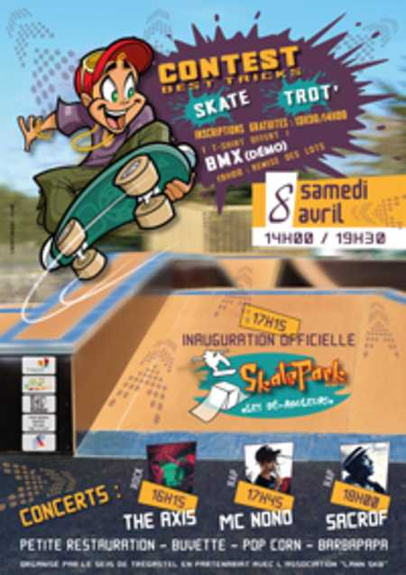 3 - inauguration skate park - services 16h30/18h00
